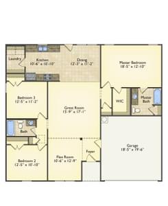 Red Door Homes -  The Hanover First Floor