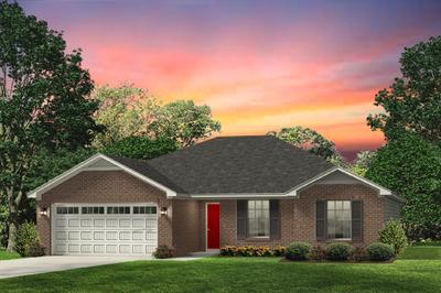 Red Door Homes -  The Norfolk Brick Elevation