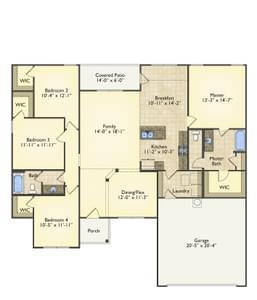 Red Door Homes -  The Richfield First Floor