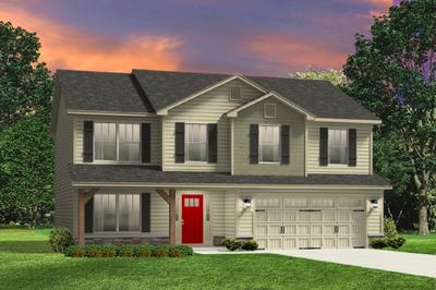 Red Door Homes -  The Westover Craftsman Elevation