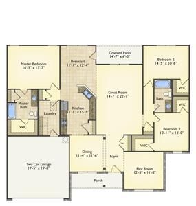 Red Door Homes -  The Lexington First Floor