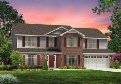 Red Door Homes -  The Arlington Brick Elevation