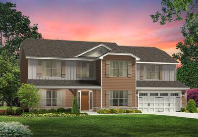 Red Door Homes -  The Arlington Craftsman Elevation